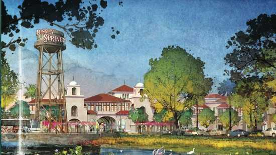 The Walt Disney company officially revealed plans to revamp the Downtown Disney-area.