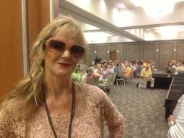 More than 300 central Florida women enjoyed spring fashions Monday while helping out local charities.