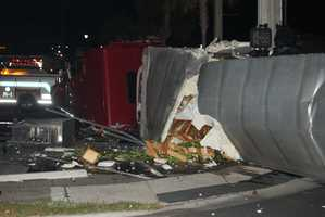 A country music star was involved in a crash in central Florida early Tuesday.