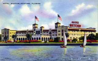 The Hotel Mayfair in Sanford in 1944.