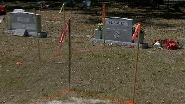 Former firefighter buried in wrong spot