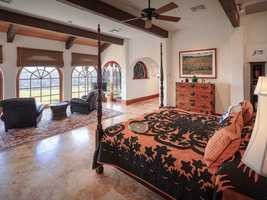 A new master wing was added in 2002 with a lakefront sitting area, master bath with detailed custom woodwork and exercise room.