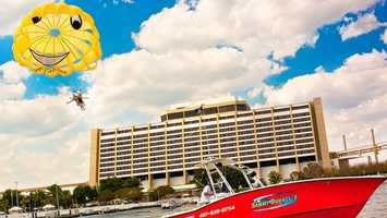 Sammy Duvall's Parasailing: Fly to new heights as you get a bird's-eye view of the Bay Lake.Price: Range from $95- $170Location: Disney's Contemporary Resort