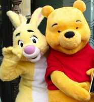 "Rabbit – Pooh's pal made his big-screen debut in ""Winnie the Pooh and the Honey Tree"" in 1966."