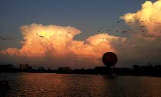 2. Lake Buena Vista (Orange County) - 9 pop.