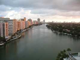 6. Indian Creek (Miami-Dade County) - 74 pop.
