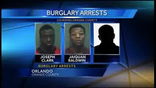 Authorities say three teens are in custody following a break-in in Orlando.