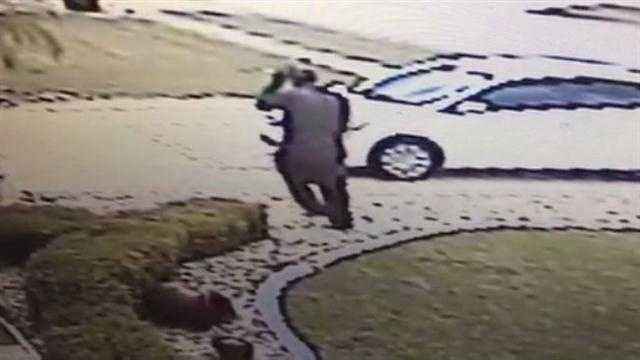 Raw Video: Police seek Port Orange burglars