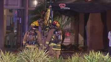 Orange County firefighters battled a blaze at a Dr. Phillips shopping center early Tuesday. Read the story