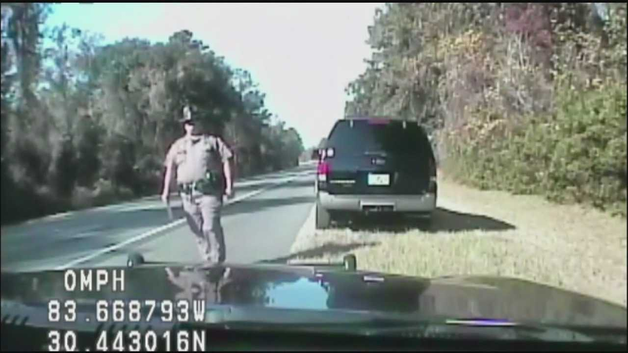 Charles Swindle is the FHP trooper fired last month after pulling over two lawmakers, including a local state representative, and he is only talking to WESH 2 News.