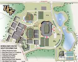 The University of Central Florida unveiled its athletics facility development plan on Thursday.