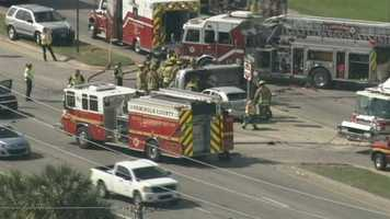 Rescuers were called to a crash in Casselberry Friday afternoon.