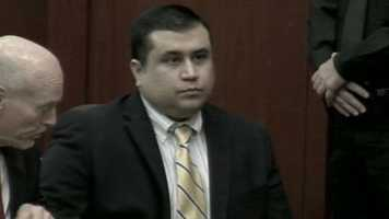 "George Zimmerman was in court Tuesday to discuss ""Stand Your Ground."""