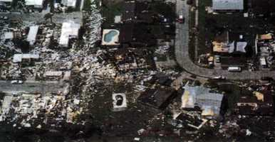 10. Oct. 3, 1992 – This EF3 twister was only on the ground for two miles in Pinellas County, but at 500-feet wide, it took the lives of three people and injured 75.