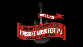 Funshine Music Festival: At the Florida State Fairgrounds in Tampa, this music fest includes rides, food, activities and live performances by Train, Smashing Pumpkins, Cheap Trick, REO Speedwagon, Ted Nugent and other acts. Check out unshinefestival.com for more details.
