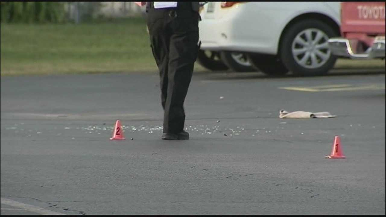 Woman attempting to collect debt grazed by bullet