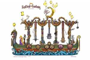 Disney Festival of Fantasy Parade at the Magic Kingdom (Coming in 2014)
