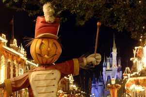 "Mickey's ""Boo-to-You"" Halloween Parade at the Magic Kingdom runs during Mickey's No So Scary Halloween Party"