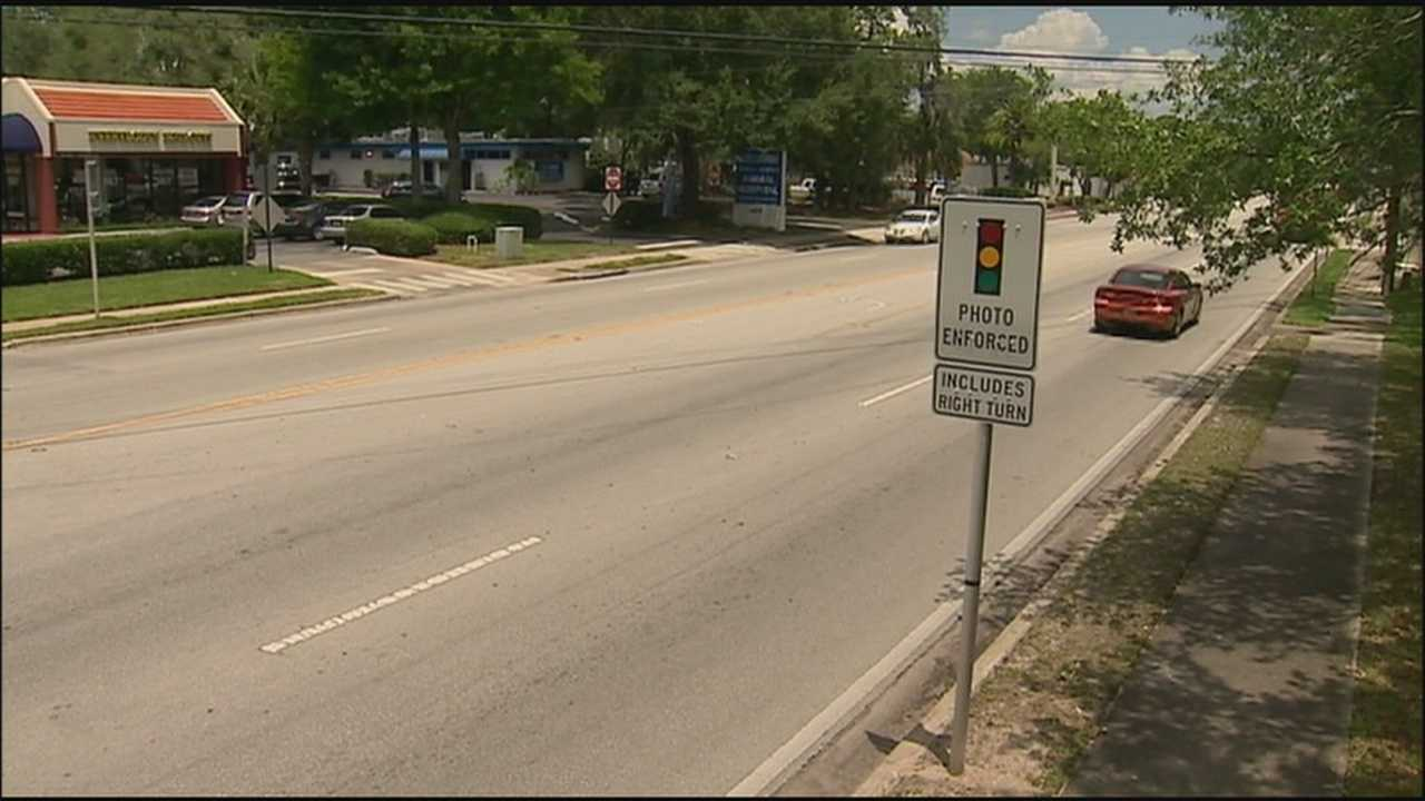WESH 2 reporter Greg Fox investigates the latest legal twist when it comes to red-light cameras.