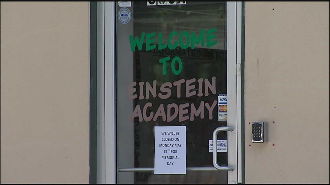 Thieves broke into cars parked outside day care and pre-school centers early Wednesday.