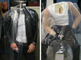 7. The headless bodies of Daniel Craig and Justin Timberlake