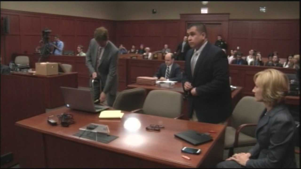 Does George Zimmerman plan to testify at trial?