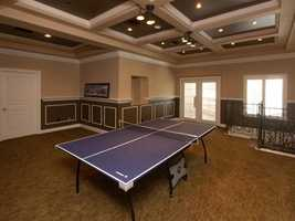 This room has been converted into a table tennis room.