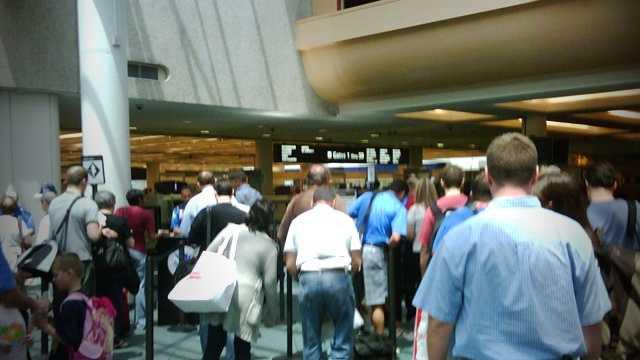 OIA security line