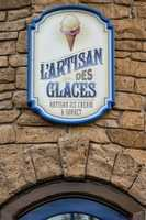With hundreds of flavors, L'Artisan des Glaces, Artisan Ice Cream & Sorbet opened at the France pavilion inside Epcot.