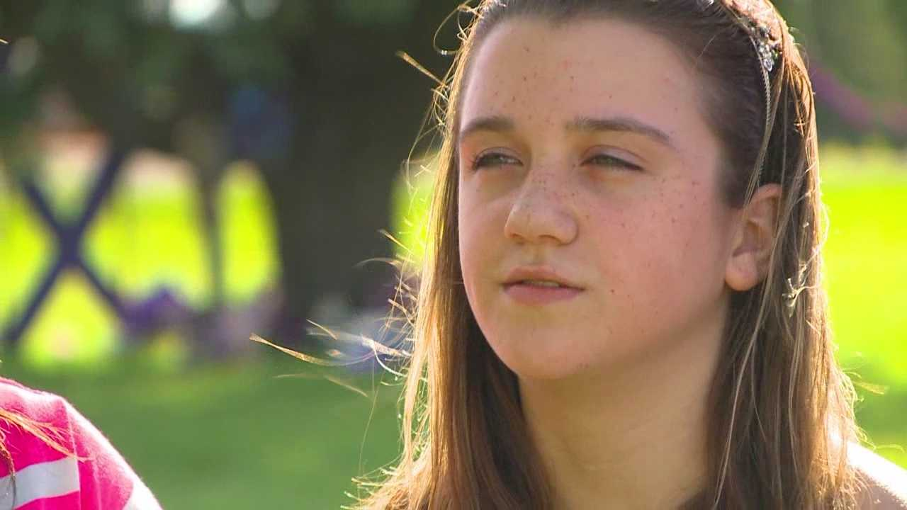 Twelve-year-old Dezi Hughes spoke with KCCI about escaping her abductor -- the same man who allegedly kidnapped and killed her friend.