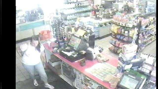 RAW VIDEO: Woman steals 26 cartons of cigarettes, deputies say