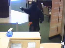 A bank employee was injured during a bank robbery in Port Orange.
