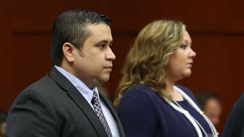 The 11th day of Zimmerman's trial, in Sanford, Fla., Monday, June 24, 2013. (Joe Burbank/Orlando Sentinel)