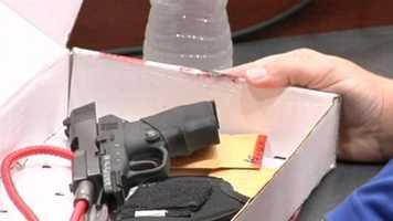 George Zimmerman's gun.