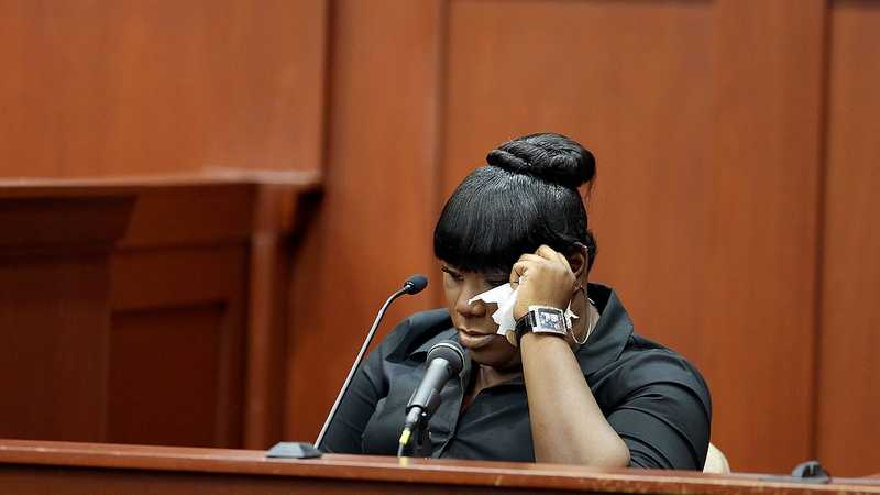 Witness Rachel Jeantel gives her testimony to the prosecution during George Zimmerman's trial in Seminole circuit court in Sanford, Fla. Wednesday, June 26, 2013. Zimmerman has been charged with second-degree murder for the 2012 shooting death of Trayvon Martin. (Jacob Langston/Orlando Sentinel)