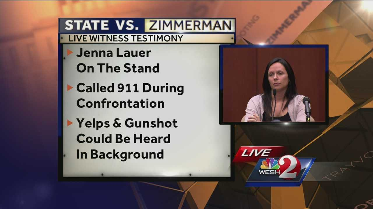 A 911 call made by a witness to Trayvon Martin's shooting was played during the George Zimmerman murder trial Thursday.