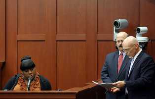 "2. Did Jeantel hear Martin say ""get off""?Trayvon Martin's friend, Rachel Jeantel, who was on the phone with him moments before he died, said in court that she heard Martin say ""get off, get off,"" during his struggle with George Zimmerman. But she did not say that in a previous interview. Jeantel said that's because she wasn't asked about it in that previous interview."