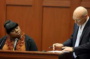 "4. What does wet grass sound like?Rachel Jeantel says she heard the confrontation between Martin and Zimmerman, then heard a ""bump"" noise, then heard what sounded like wet grass. Defense attorney Don West questioned her on how she knows what wet grass sounds like. ""It could have been a thousand other things,"" West said. ""Yes, sir,"" she responded."