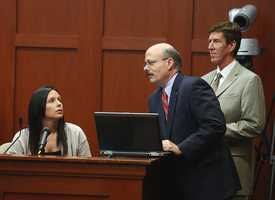 "8. Who's following who? Twitter confusionState attorney Bernie de la Rionda has admitted before that he is a social media novice, but it appears he got this one right. Witness Jenna Lauer was asked if she was ""following"" George Zimmerman's brother, Robert Zimmerman, Jr., on Twitter. She said she wasn't. De la Rionda got out a laptop and showed her that she was. It sparked a confusing few minutes on what ""following"" is and who was ""following"" whom."