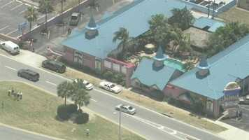 A man is found dead at a Cocoa Beach hotel, the Fawlty Towers.