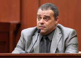 """5. Investigator's answer removed from the recordAn answer given by lead investigator Chris Serino on Monday was removed from the record after a state objection Tuesday. Serino was asked by the defense whether he thought Zimmerman was telling the truth, to which he answered, """"yes."""" The state argued a witness can't testify to another witness's truthfulness."""