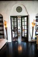 Find out what's behind these french doors.