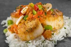 The Brazil Marketplace will return in 2013 with a new taste -- Seared Scallop with Hearts of Palm and Tomato Stew.