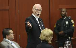 "7. ""Oh my God. Just when I thought this case couldn't get any more bizarre.""Those were the words of defense attorney Don West after the state requested that third-degree murder be considered as a lesser charge. West complained to the judge that the request was unfair and they hadn't had time to prepare an argument against it. It turns out, the defense didn't need to argue. The state's request was denied. See the video"