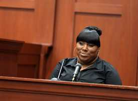 Friend who was on the phone with Martin gives emotional, sometimes confusing, at times hostile testimonyIn what was perhaps the most captivating testimony in the trial, Trayvon Martin's friend, Rachel Jeantel, who was on the phone with him moments before he died, took the stand. She described what she heard on the other end of the phone as Martin came into contact with George Zimmerman. She also said she thinks it was Martin's voice screaming in the background of a 911 call. But how credible is she? The defense suggested she changed her testimony about what she heard on the phone.