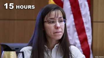 Jodi Arias: Guilty of murdering her boyfriend.
