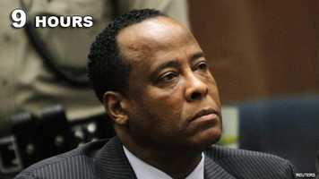Conrad Murray: Guilty of manslaughter in the death of Michael Jackson.