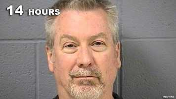 Drew Peterson: Guilty of murdering his wife.