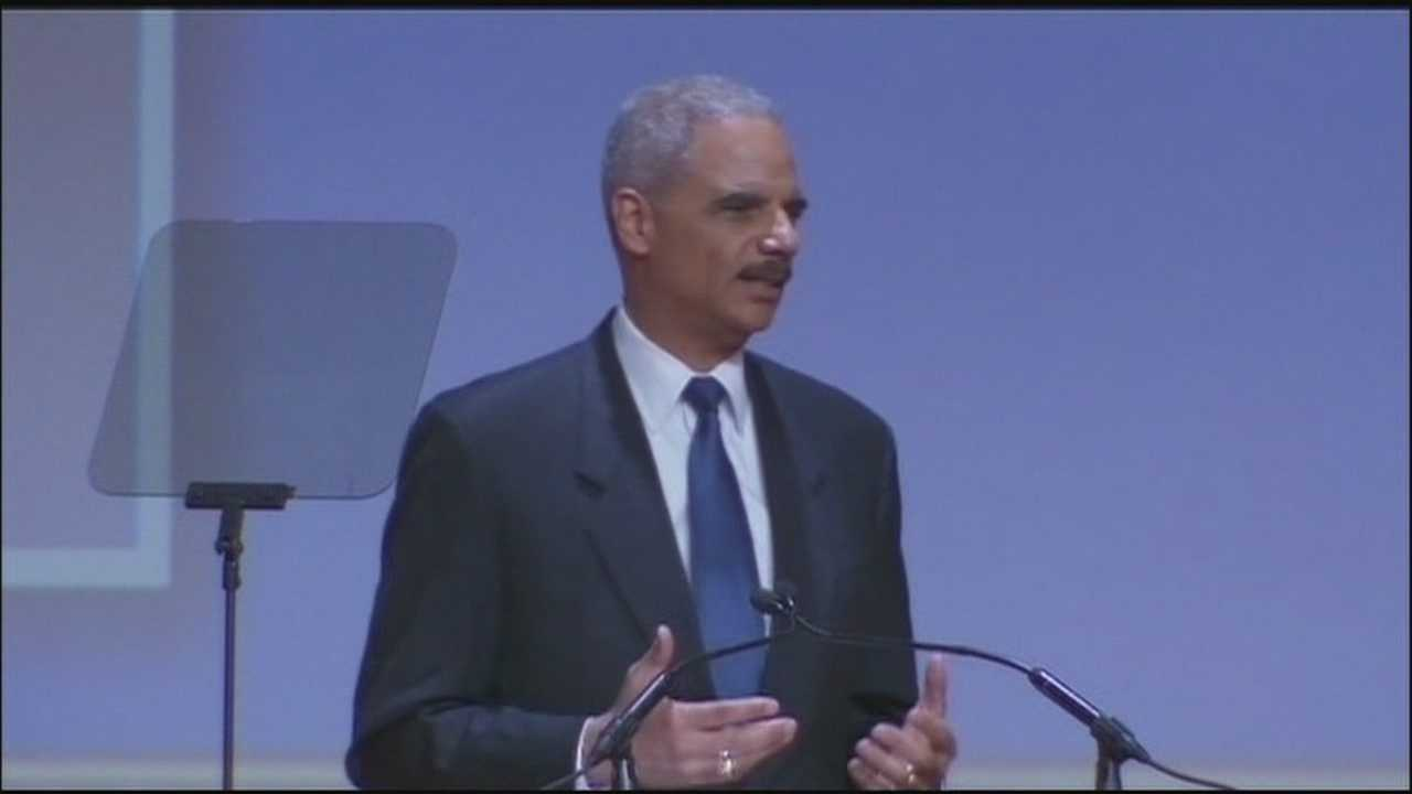 Attorney General Eric Holder to speak at NAACP convention