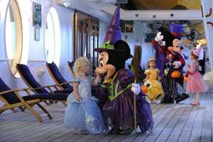 Halloween on the High Seas begins in September, featuring Halloween-themed parties, entertainment and Halloween décor on the ship.